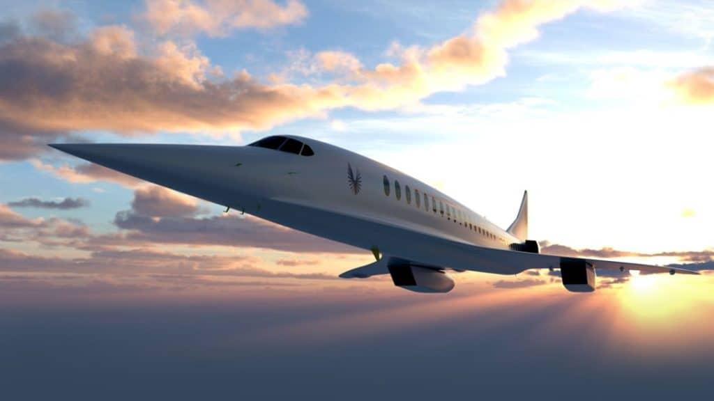 Aeronave de Boom Supersonic