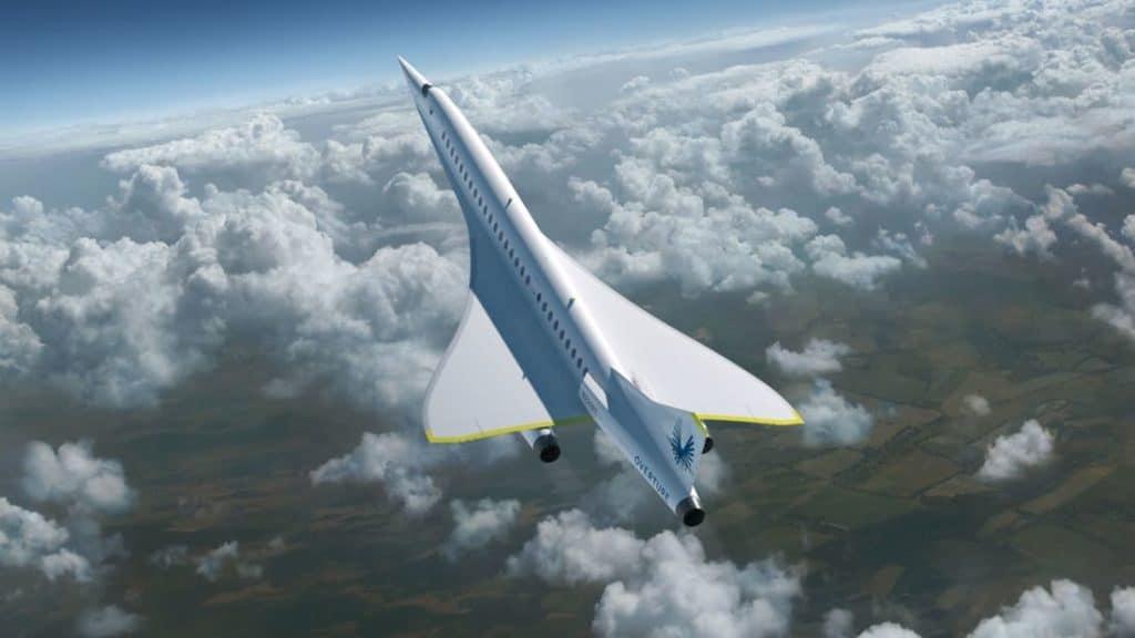 Avión de Boom Supersonic