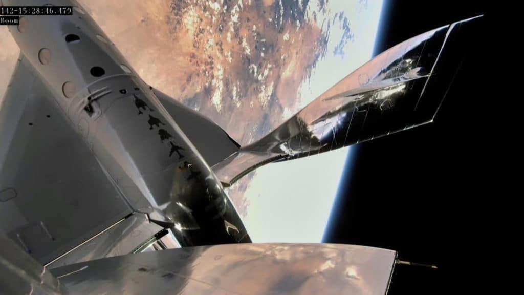 Primer Vuelo Espacial Tripulado Desde Nuevo México De Virgin Galactic