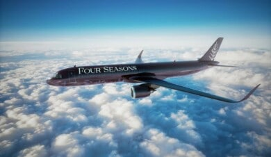 Jet del Four Seasons