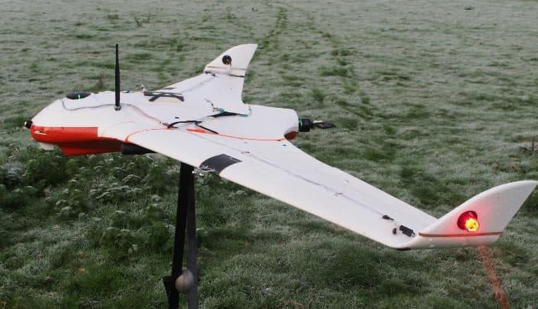 Drone Utilizado Para Controlar El Clima