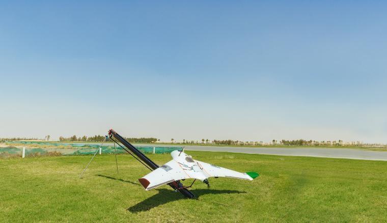Uno De Los Drones Utilizados Para Controlar El Clima