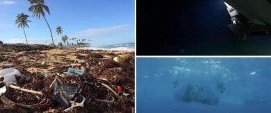 Un científico de Filipinas realizó el primer viaje a la tercera fosa oceánica más profunda del mundo y encontró residuos plásticos