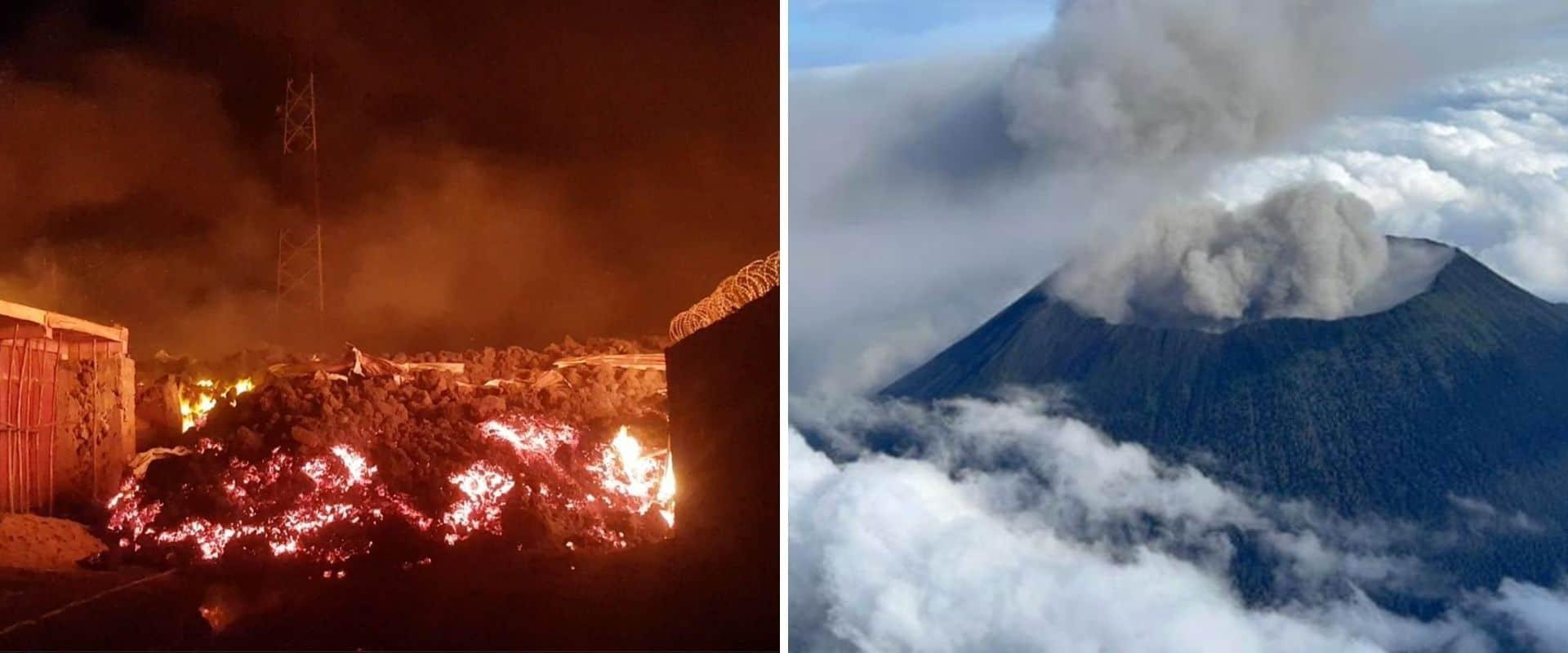 En los últimos días se registraron más de 92 terremotos y temblores cerca del volcán Nyiragongo, en la República Democrática del Congo