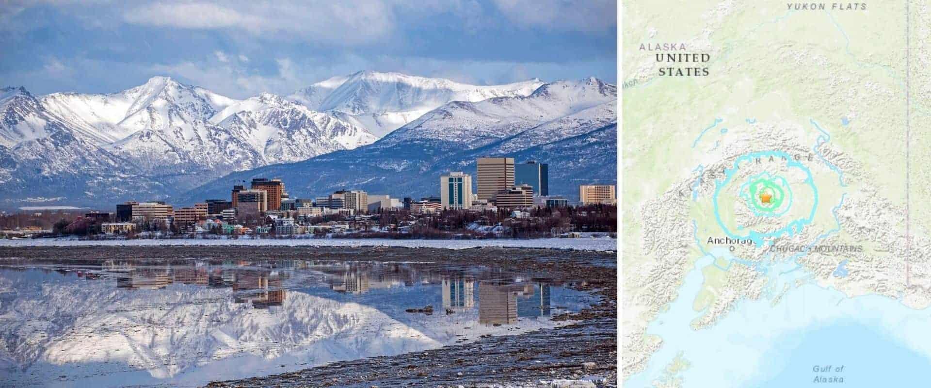 Se registró un terremoto de 6.1 de magnitud en Alaska durante la noche del último domingo de Mayo