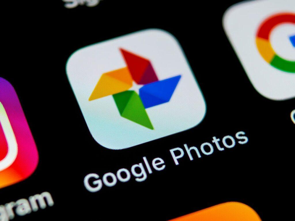 Aplicación Google Photos/ Google Fotos