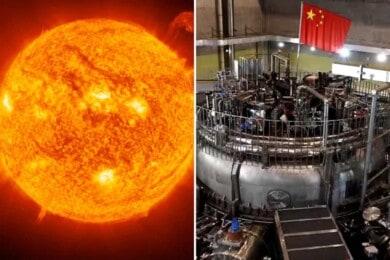 sol artificial de China