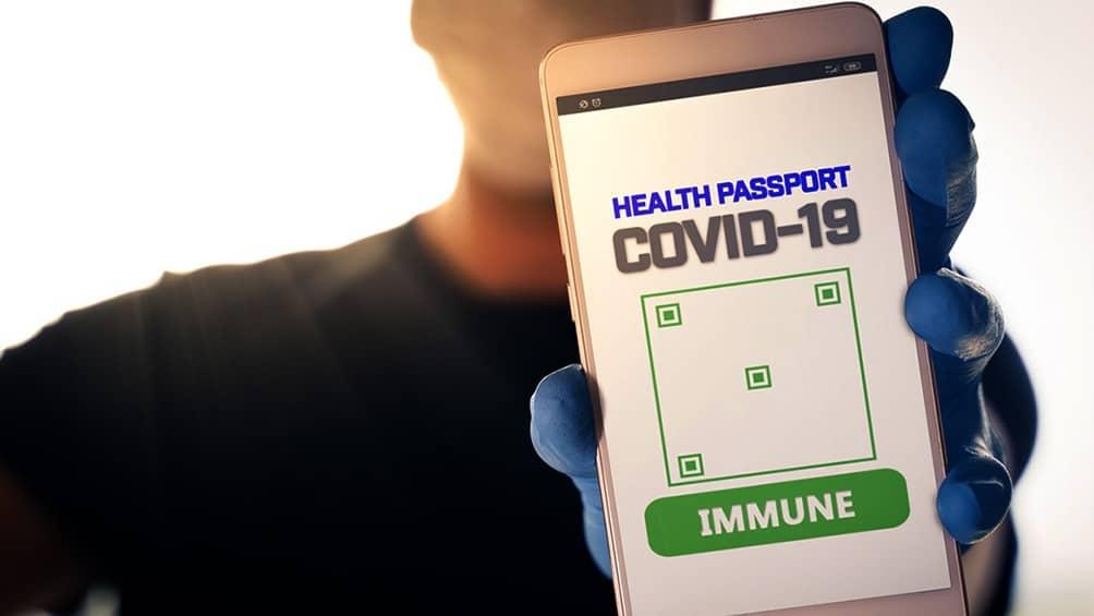 pasaporte sanitario para viajar a Europa