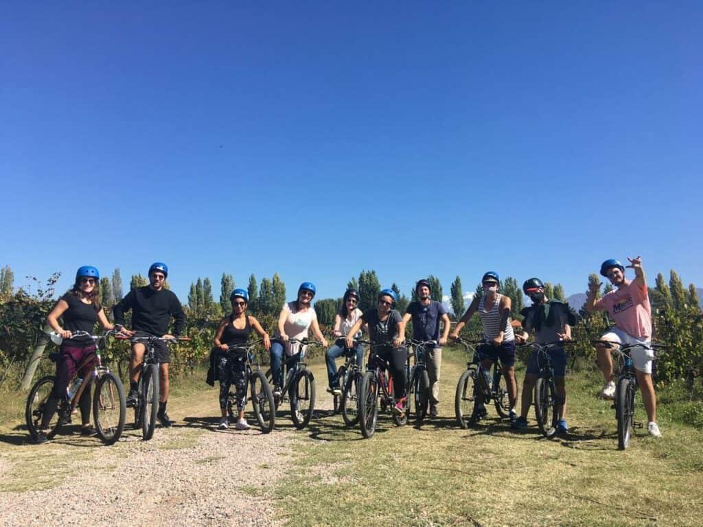 Imagen Recorrer Los Viñedos De Mendoza En Bicicleta Bike Por Bodegas Tours Mendoza