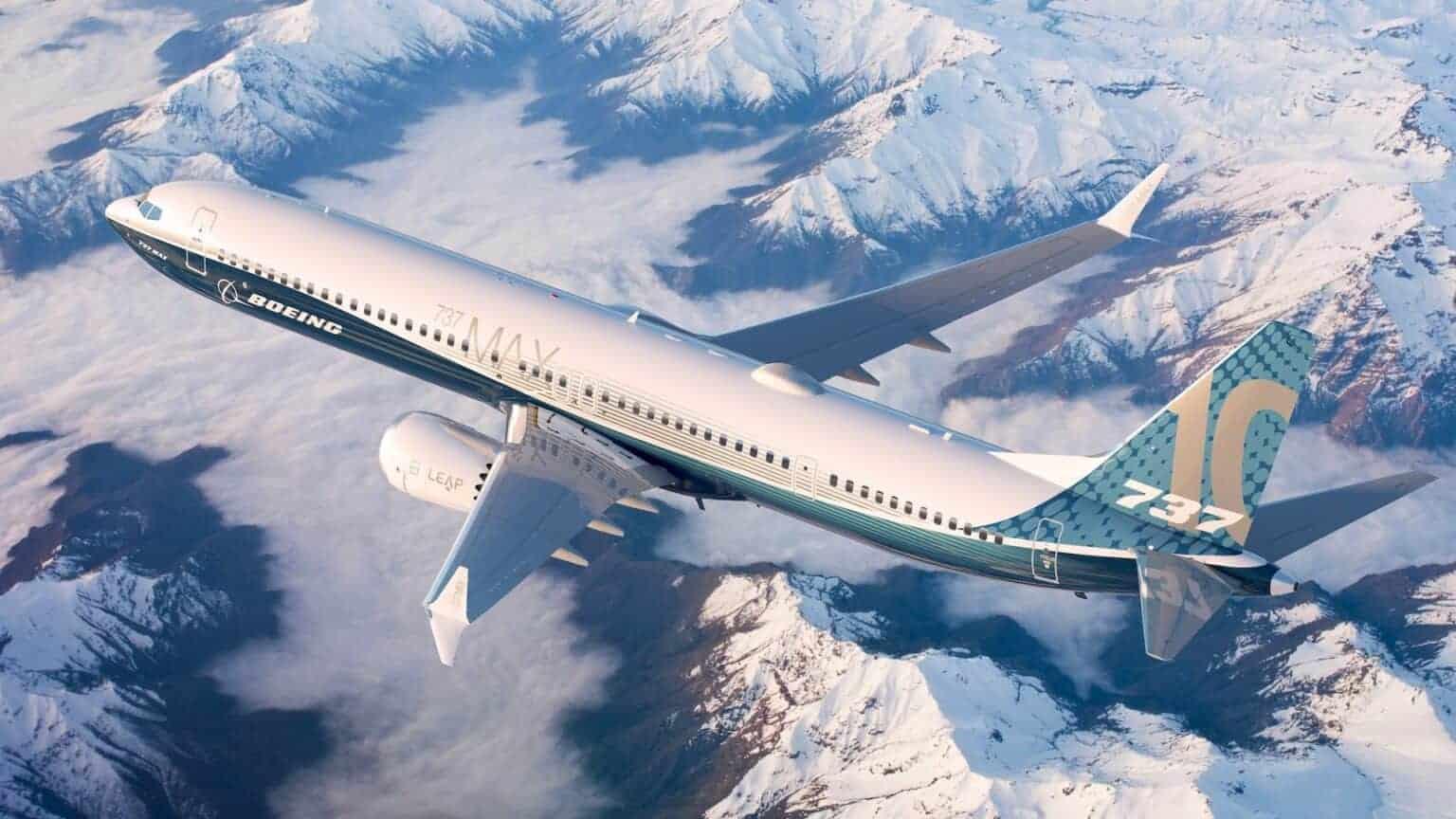 Boeing 737 MAX 10 Reaches Firm Configuration (PRNewsfoto/Boeing)