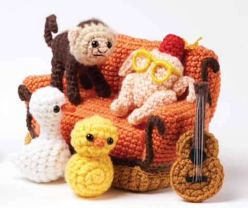 Imagen Personajes Favoritos De Friends Friends Crochet 48