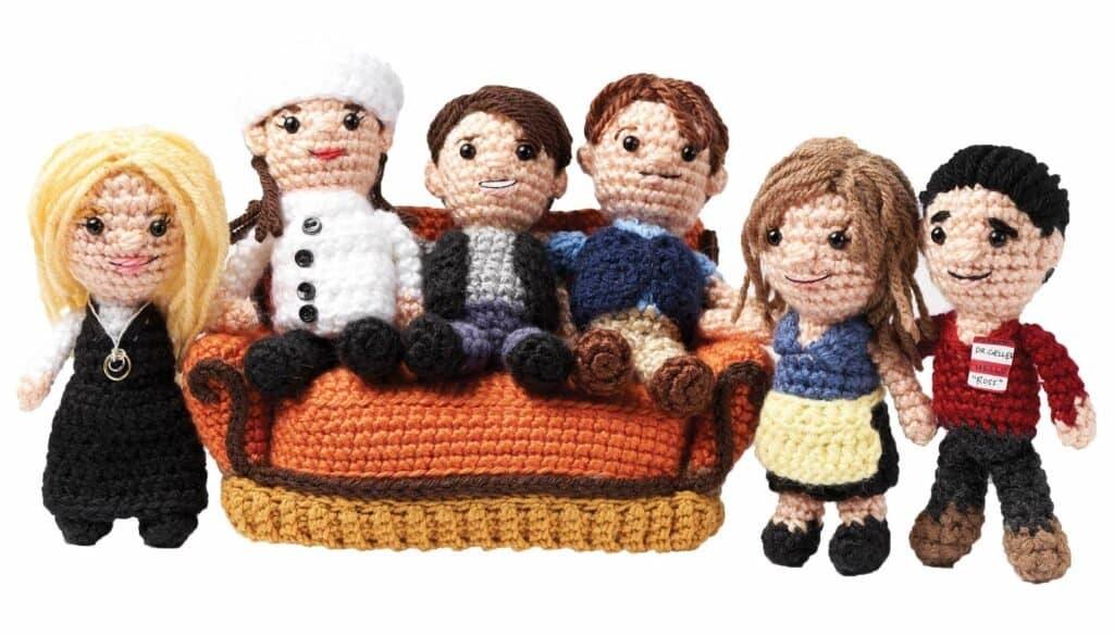 Imagen Personajes Favoritos De Friends Friends Crochet
