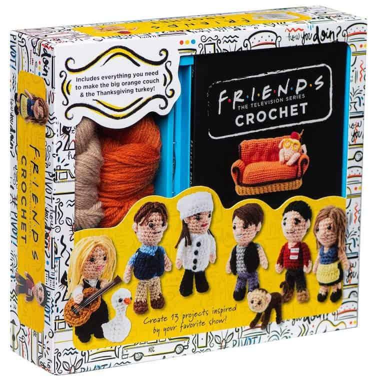 Ahora Puedes Coser Tus Personajes Favoritos De Friends Con Este Espectacular Kit De Crochet