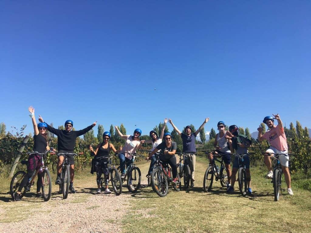 Imagen Recorrer Los Viñedos De Mendoza En Bicicleta Bike Por Bodegas