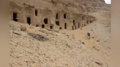 250 tumbas excavadas en Egipto