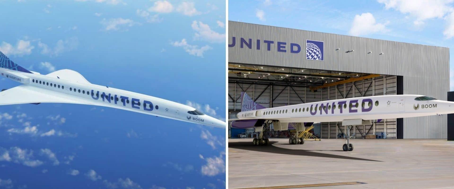 La aerolínea United planea contar con aviones supersónicos para sus pasajeros dentro de los próximos 10 años