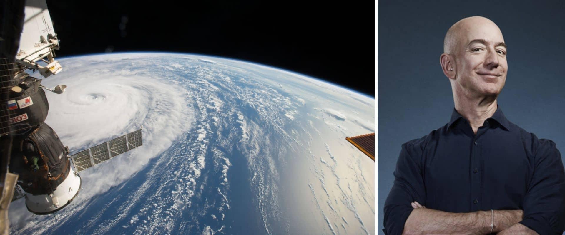 Jeff Bezos, CEO de Amazon, será una de las personas que viajará al espacio en el primer vuelo tripulado de un cohete de Blue Origin