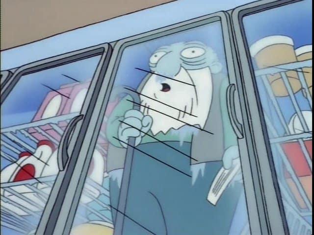 Escena De Los Simpson