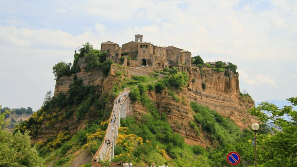 Ciudades Cerca De Roma: Civita Di Bagnoregio