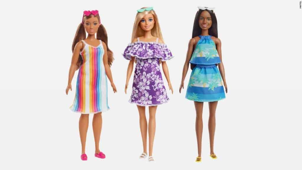 Mattel Anuncia Una Nueva Colección De Barbie Hechas De Residuos Plásticos.