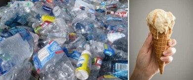 Un grupo de científicos logró convertir botellas de plástico en aroma de vainilla