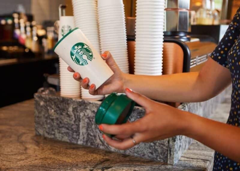 Vaso Reutilizable De Starbucks