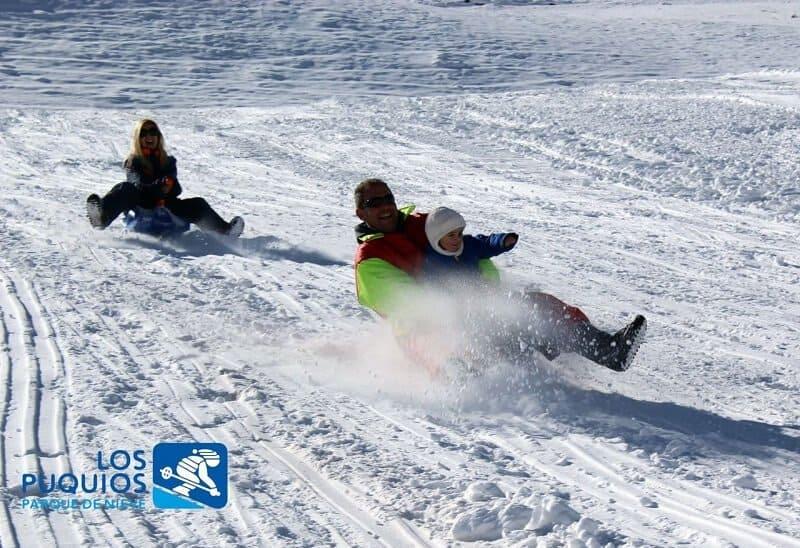 Centros De Esquí Para Niños En Mendoza: Los Puquios