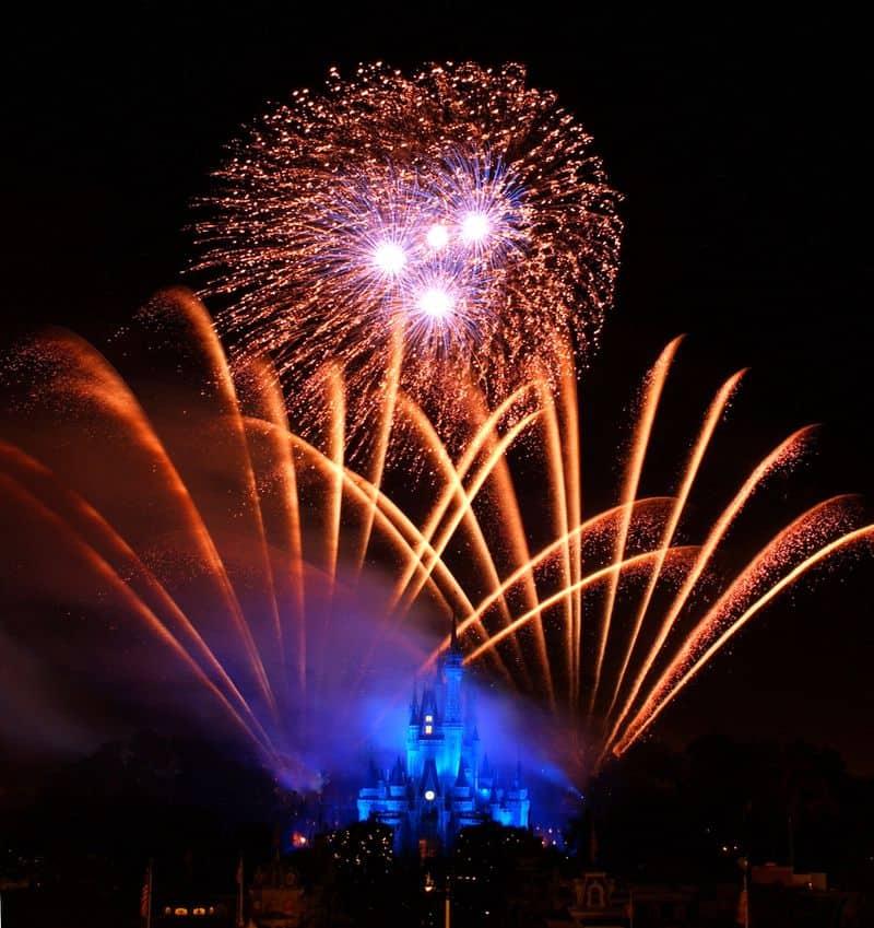 Los Shows Con Fuegos Artificiales En Los Parques De Disney Serán Reanudados A Partir De Julio
