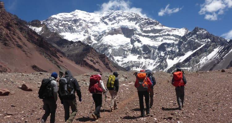 Imagen Turismo Aventura En Argentina Trekking Cerro Aconcagua Mendoza
