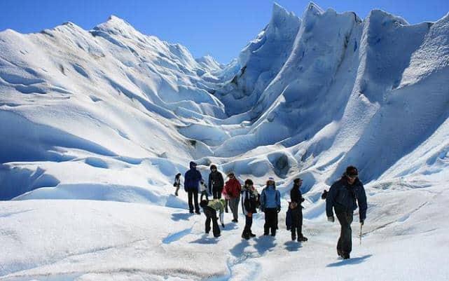 Imagen Turismo Aventura En Argentina Trekking En Parque Nacional Perito Moreno