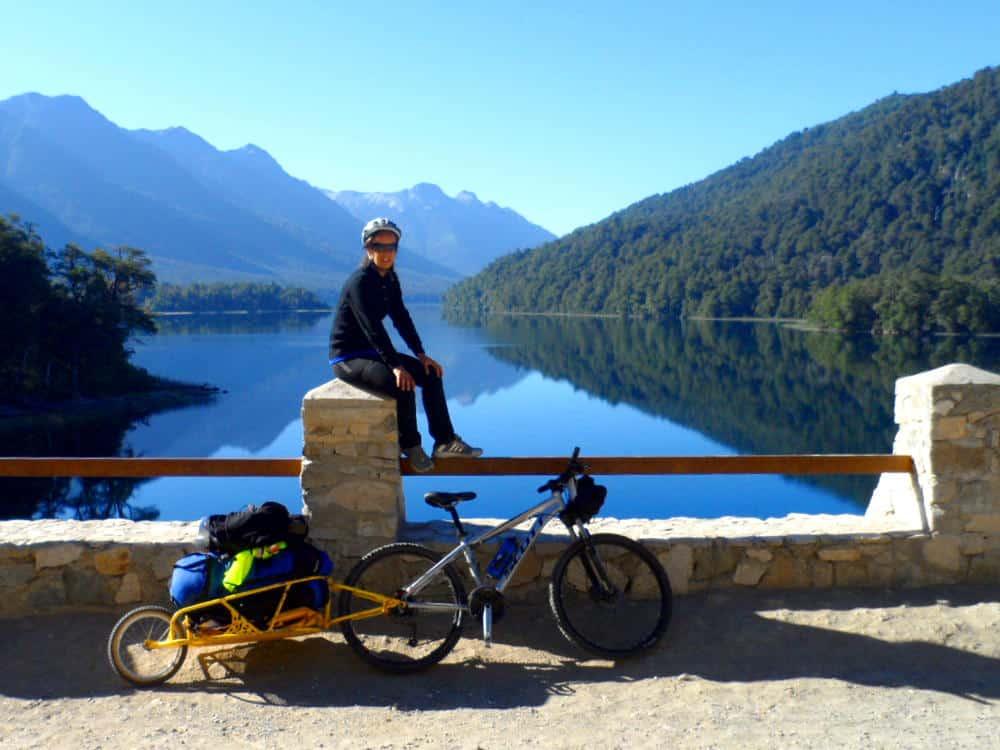 Imagen Turismo Aventura En Argentina Ruta De Los Siete Lagos En Bicicleta