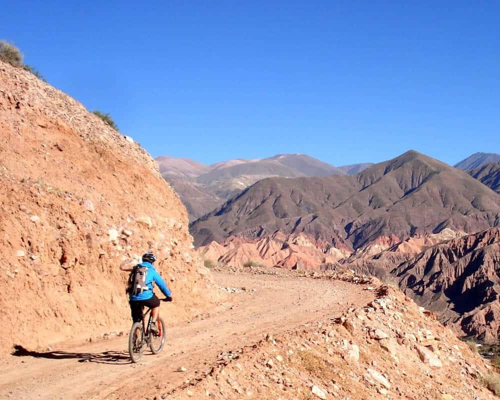 Imagen Turismo Aventura En Argentina Mountainbike En Tilcara Jujuy