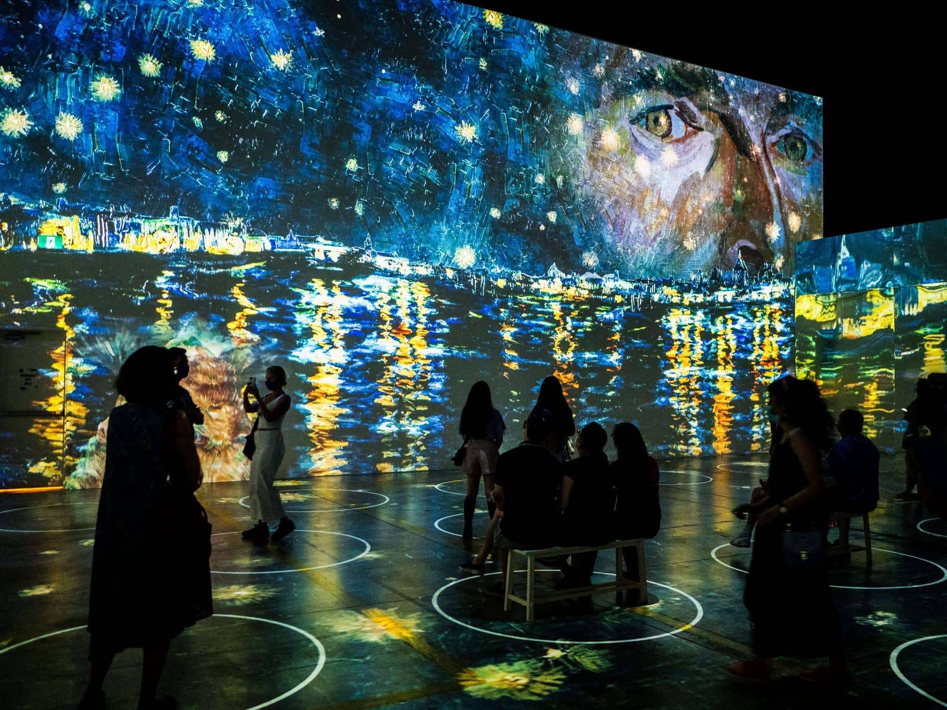 La muestra inmersiva de las obras de Vincent Van Gogh llega a la ciudad de Nueva York