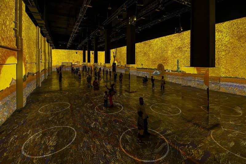 Muestra Inmersiva De Vincent Van Gogh En Nueva York