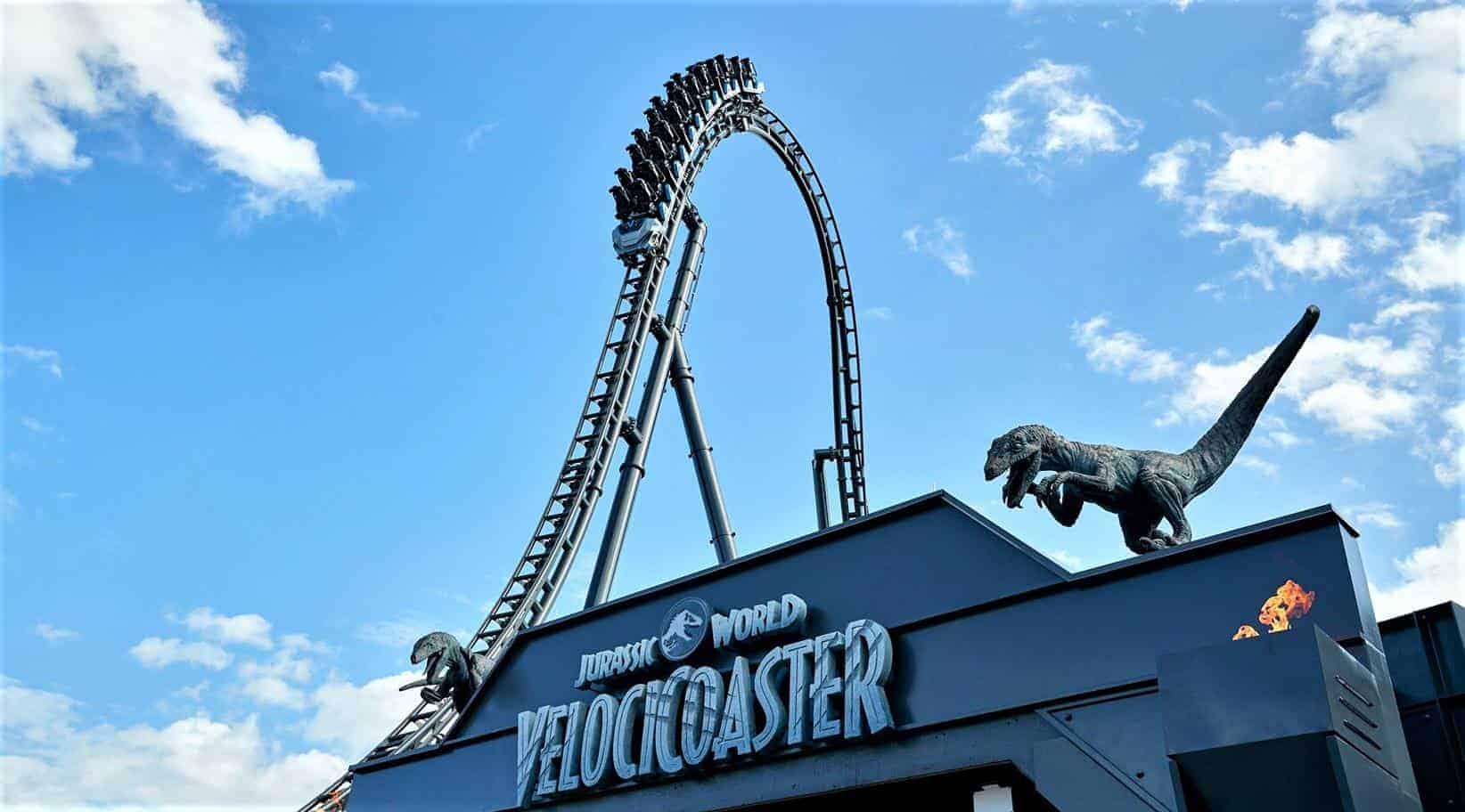 VelociCoaster: ya está abierta para el público en general la nueva montaña rusa de Jurassic World en Universal Orlando
