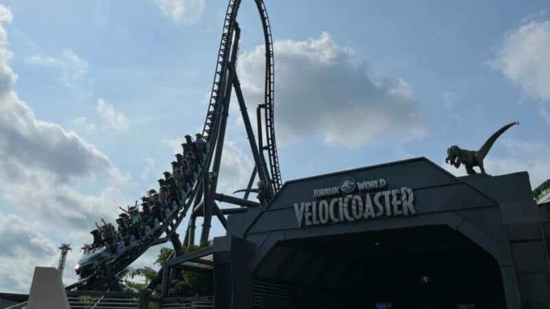 Velocicoaster En Universal Orlando
