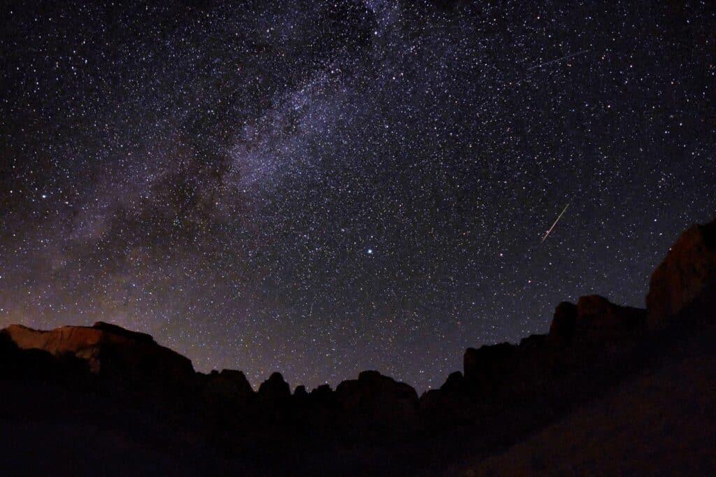 El Parque Nacional Zion Ha Sido Nombrado Parque Internacional De Cielo Oscuro