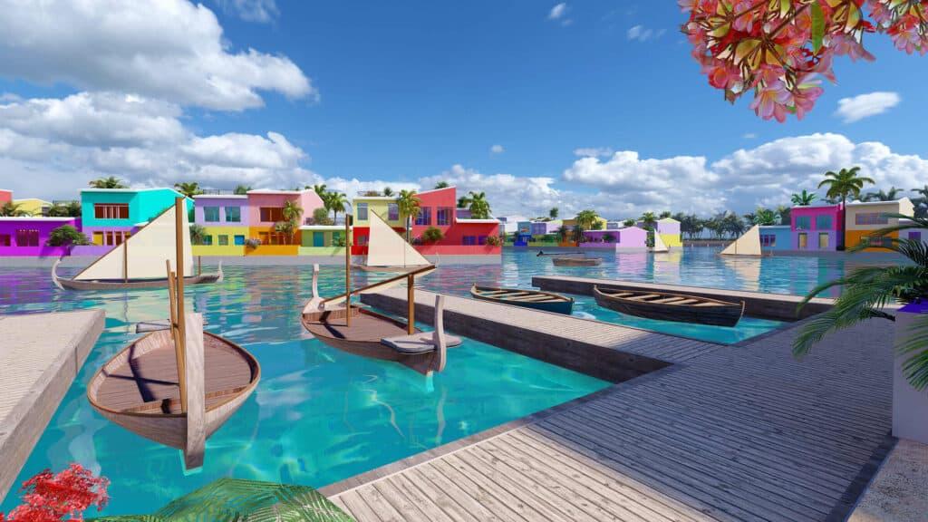 Maldivas Está Construyendo Una Ciudad Flotante