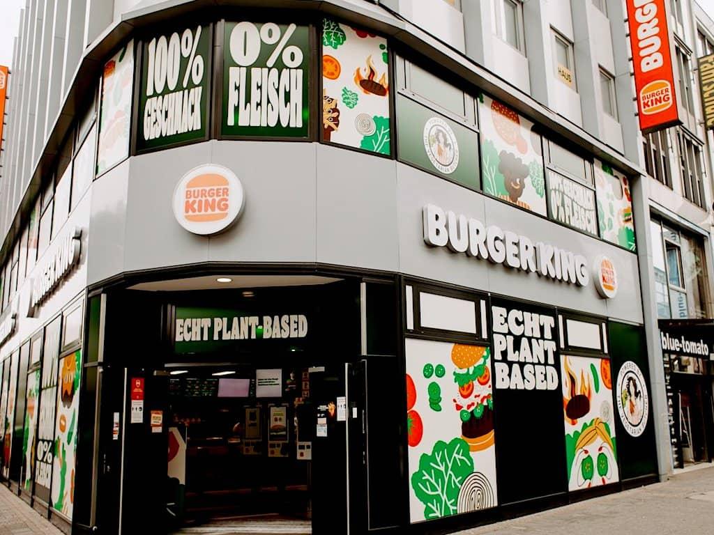 El primer Burger King vegetariano abrió sus puertas en Alemania, aunque solo será por tiempo limitadoEl primer Burger King vegetariano abrió sus puertas en Alemania, aunque solo será por tiempo limitado
