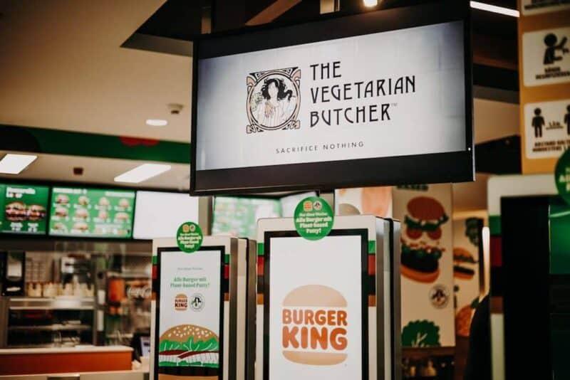 Burger King vegetariano en Alemania