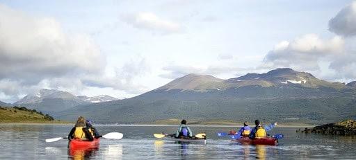 Imagen Turismo Aventura En Argentina Kayak En Canal Beagle Ushuaia