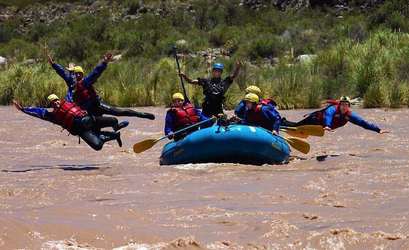 Imagen Turismo Aventura En Argentina Rafting En Mendoza 1