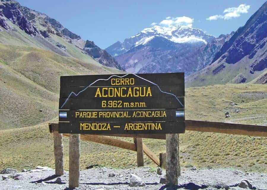 Imagen Turismo Aventura En Argentina Montanismo En Cerro Aconcagua Mendoza Argentina