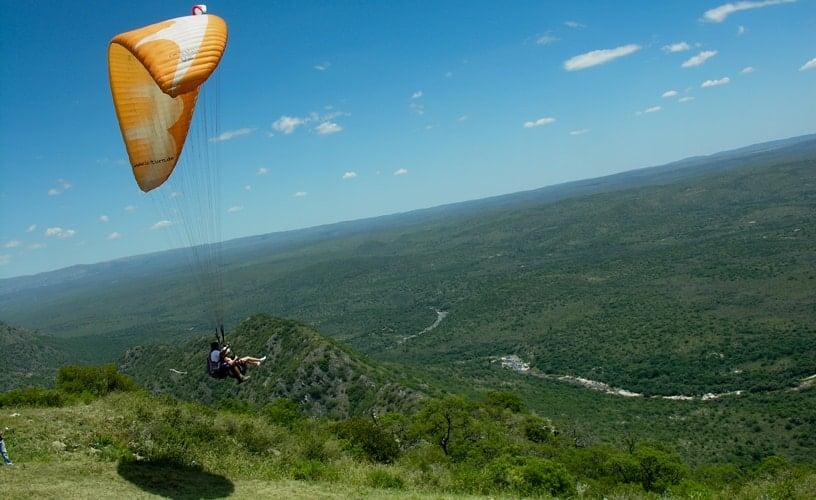 Imagen Turismo Aventura En Argentina Parapente La Cumbre Cordoba