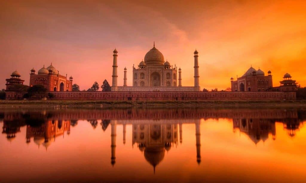 Los 8 Atardeceres Más Mágicos Del Mundo: Taj Mahal