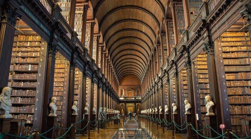 Imagen Lugares Para Conocer En Dublín Bibliotecas Para Conocer En Dublin