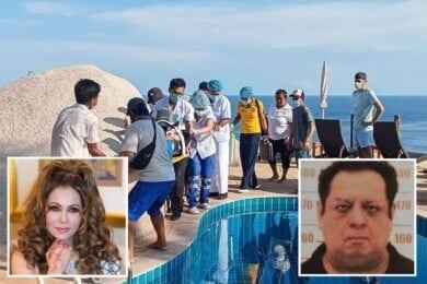 """Un millonario y su esposa fueron encontrados sin vida en una piscina en la """"isla de la muerte"""" de Tailandia"""