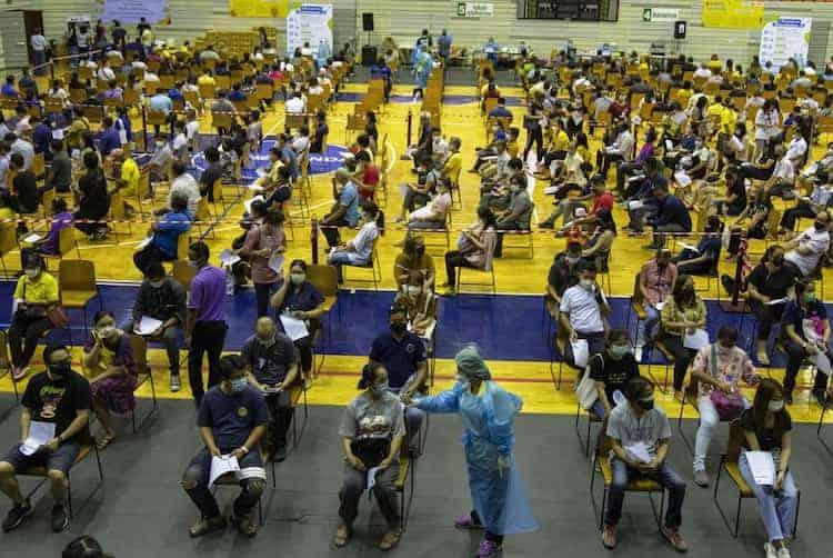 Centro De Vacunación De Tailandia