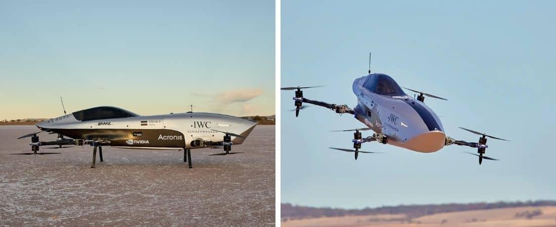 El primer auto eléctrico volador pensado para carreras aéreas completó su primer vuelo