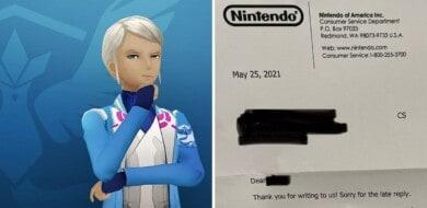 Nintendo le responde una carta a alguien que escribió para pedir personajes de Pokémon no binarios